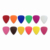 Custom personalized plastic ABS nylon guitar pick plectrum in 0.45mm 0.71mm 0.88mm 1.0mm 1.2mm