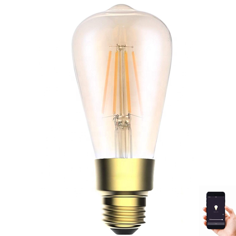 Hot New Product Smart Home Lighting Wireless Wifi Led Lights Wifi Smart Led <strong>Bulb</strong> Made In China