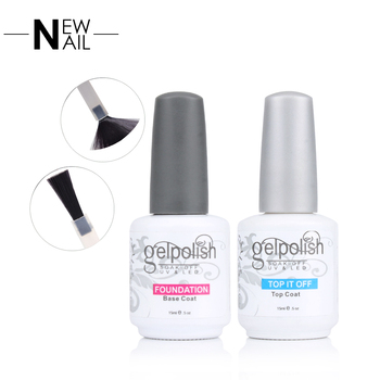 15ML nail supplies uv gel top coat no wipe top gel for nail spa