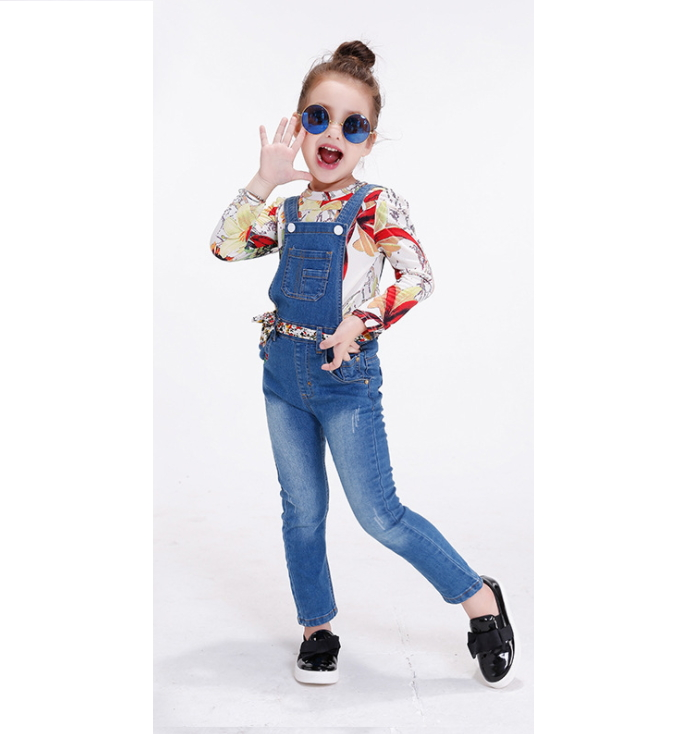 Girl's Jeans And Trousers For Children