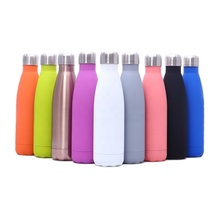 Hot Sale Portable <strong>Sports</strong> Insulated Cola Shaped Water Bottle Stainless Steel