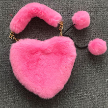 <strong>Affordable</strong> pink fur <strong>bag</strong> leopard faux fur <strong>bag</strong> fake fur <strong>bag</strong>