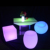 party chairs and tables hookah lounge outdoor led furniture set sectional sofas chair table with lighting