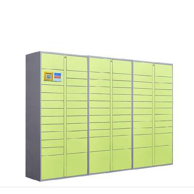 Smart Locker OEM/ODM Intelligent Parcel Delivery Locker with <strong>Mobile</strong> App &amp; LCD Screen for Office/Building/Supermarket