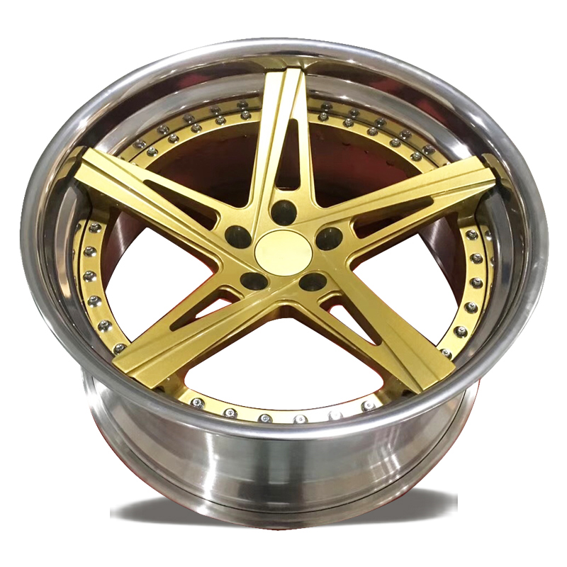 Customize forged wheel rim 2 piece structure forged <strong>alloys</strong> 20inch