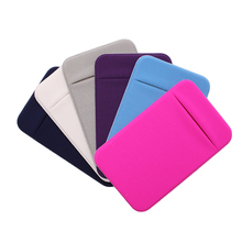 New 2019 wholesale self adhesive Stickers mobile phone pocket card holder <strong>wallet</strong>