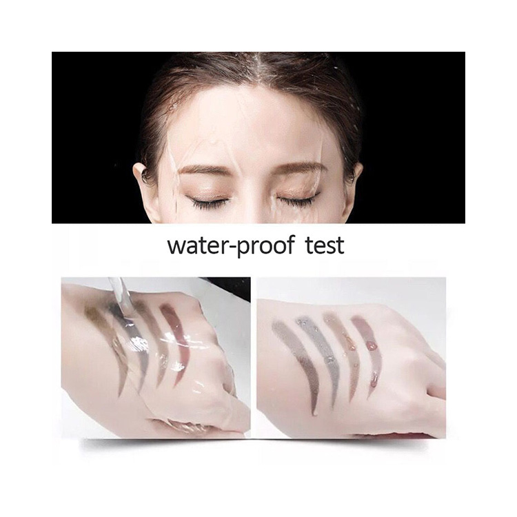 Custom Logo Eyebrow Pencil Private Label Professional Waterproof Eyebrow Pencil With 5 Colors