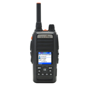 TESUNHO Handheld SIM Card Two Way Radio Working With Real PTT