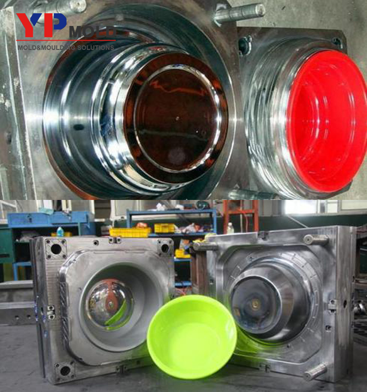 yuyao mold export design make plastic washbasin noodle high quality <strong>injection</strong> molds for sale