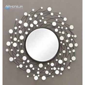 New design wall glass decorative mirror glass for home decor