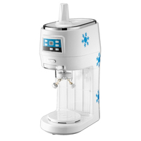 Double Blades Tabletop Mini Ice Shaver Snow Bingsu Machine For Commercial Use