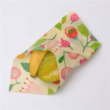 China factory supply high quality FDA Reusable Beeswax Wraps for biodegradable packaging