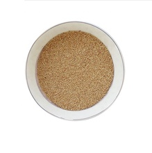 Sandblasting granule different size crushed corn cob media