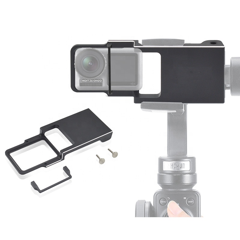 Gopros for Heros Gimbal Shoot Adapter for 6 5 4 3+ Yi 4k Switch Mount Plate Dji Osmo Zhiyun Smooth Q <strong>Mobile</strong> Holder Connection