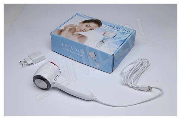 Wholesale Portable Mini Hot And Cold Hammer Face Skin Massager Shrink Pores Home Use Device