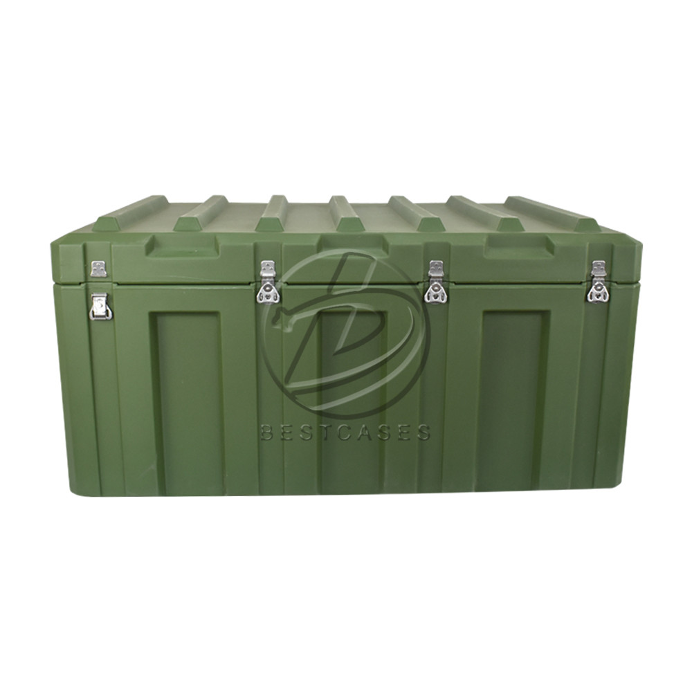 Waterproof heavy duty army Box plastic military  transport Case