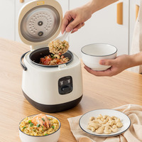 Travel Smart Microwave Rice Cooker Manufacturer Drum Mini Electric Rice Cookers