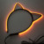 Glow up gift luminescent EL hair clip clasp for night club party