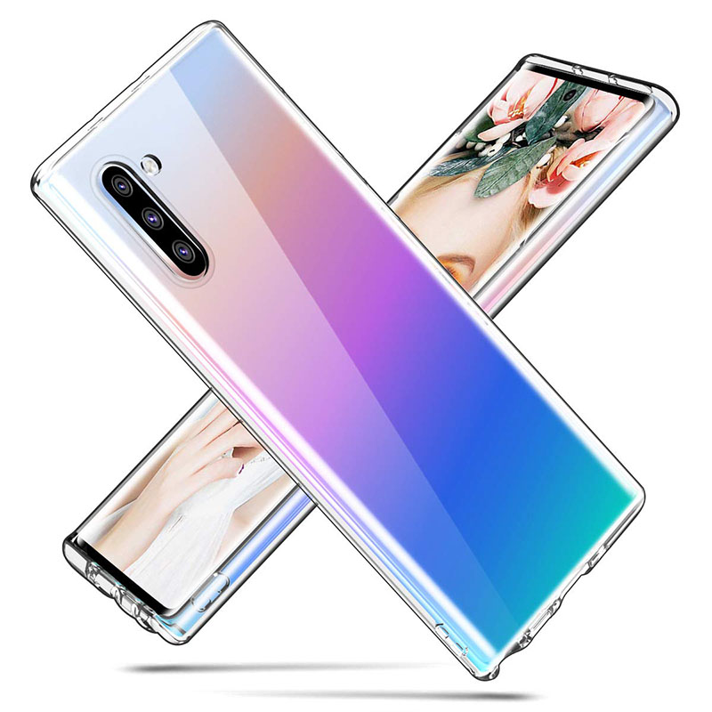 Ultra Slim Clear TPU Case for Samsung Galaxy Note 10