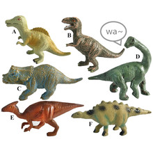 4inches 6PK kids Paleontologist prehistoric <strong>animals</strong> toys