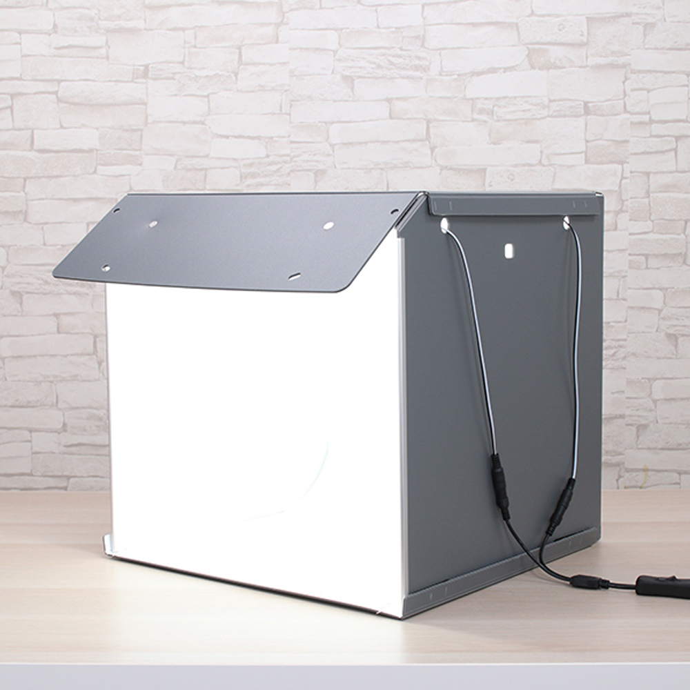 40cm Photo Studio Box Photography Backdrop portable Softbox LED Light Photo Box fold Photo Studio Soft Box