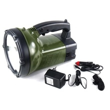 JVCS-220S 55W outdoor halogen handheld long range flashlight bright light rechargeable searchlight