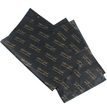 Custom Gold Brand Logo Printing Gift Wrapping Tissue <strong>Paper</strong> for Packing
