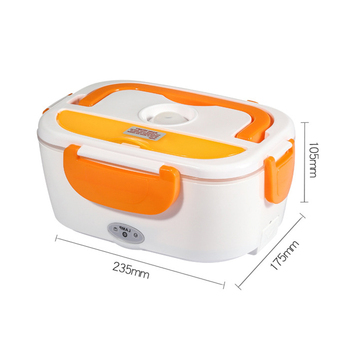 Electric lunch box stainless steel inner Heating warmer Lunch box Food container