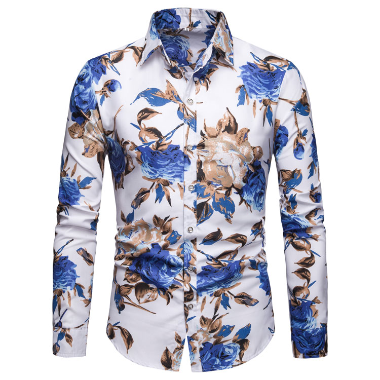 2020 hot selling floral men shirt linen / <strong>cotton</strong> oversize high quality inexpensive long sleeve with casual or business