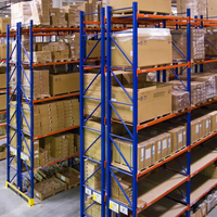 Heavy duty warehouse Storage Metal Shelf,China Manufacturer Double Deep Pallet Rack,CE Certisficate Steel Pallet rack