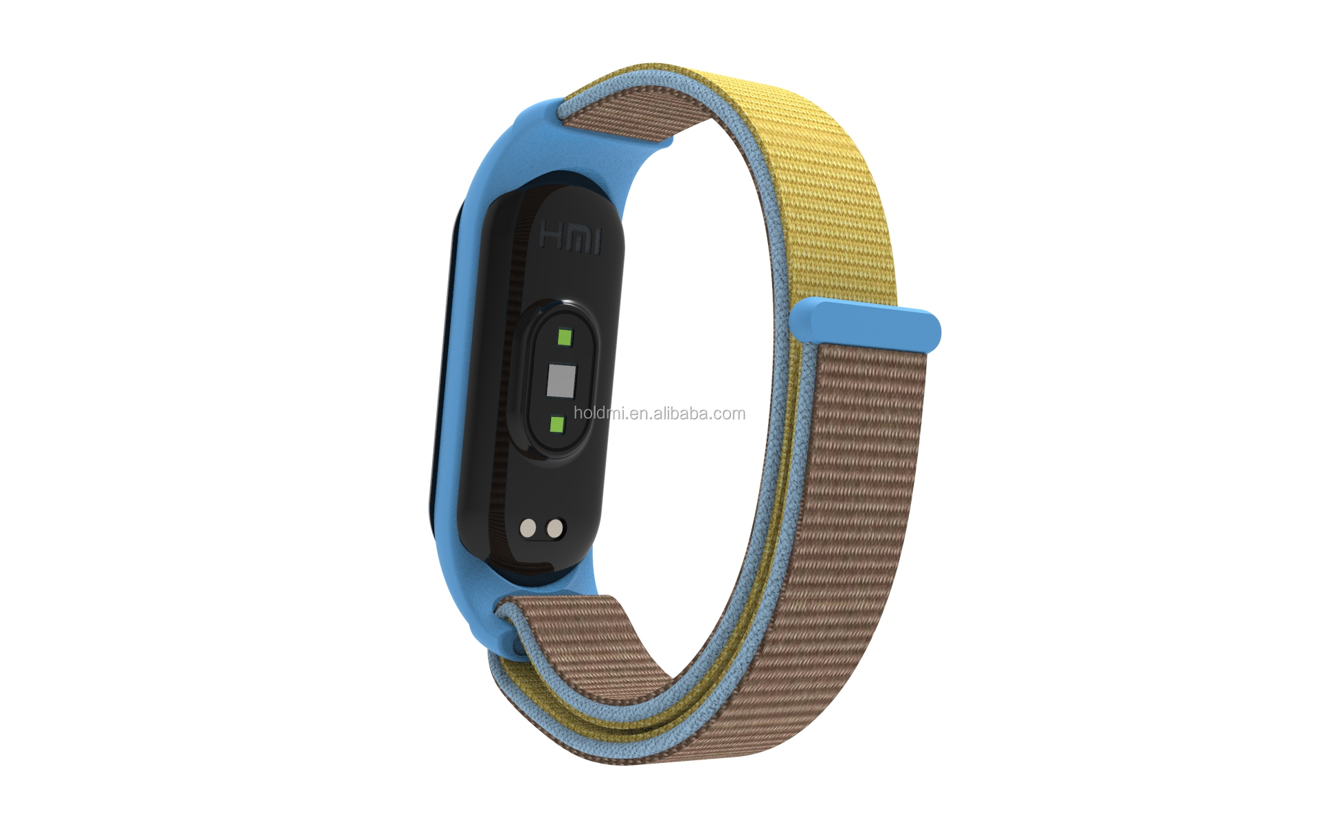 ODM holdmi new 5311 series 36 colors replacement nylon mi band 5 strap for mi band 3 4 5