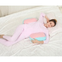 Colorful OEM pregnancy back support pillow maternity