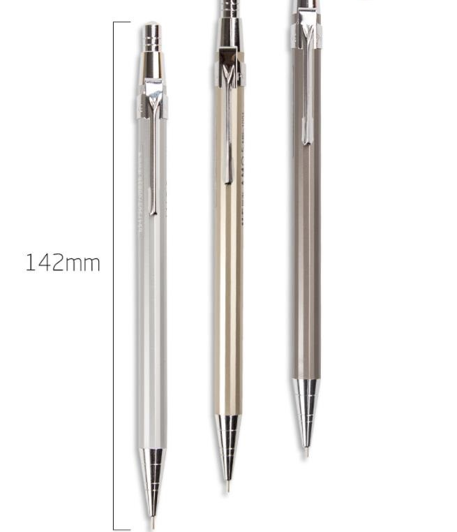 hot sale school student use custom logo mechanical pencils 0.7