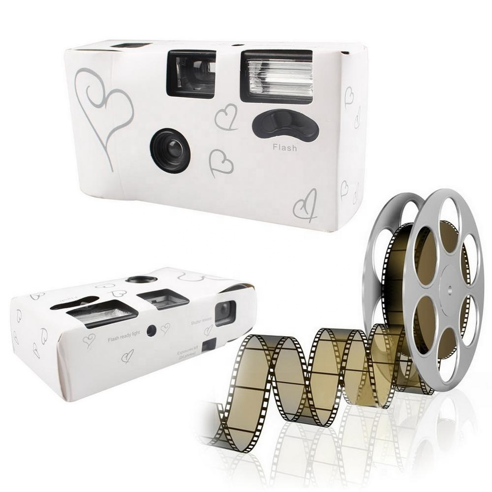 OurWarm Wedding Favors and Gifts 36 Photos Power Flash HD Single Use One Time Disposable Film Camera Wedding Favors and Gifts
