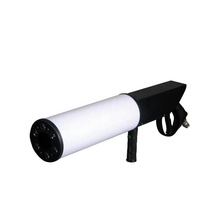Whole sale handhold CO2 DJ Gun with battery <strong>Led</strong> CO2 Jet Machine co2 pistol gun for Disco Club KTV Pub Party