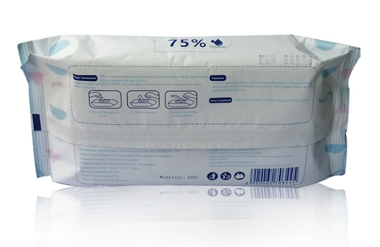 New Product In Stock Disposable Disinfection Wipes