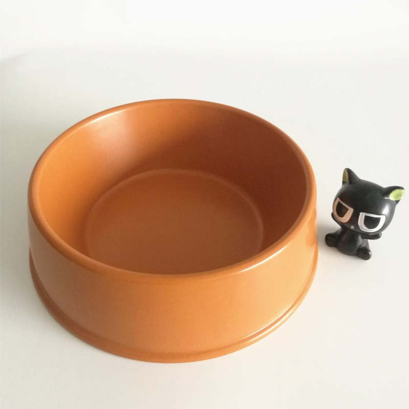 Personalized Bamboo Fiber OEM Food Pet Bowl