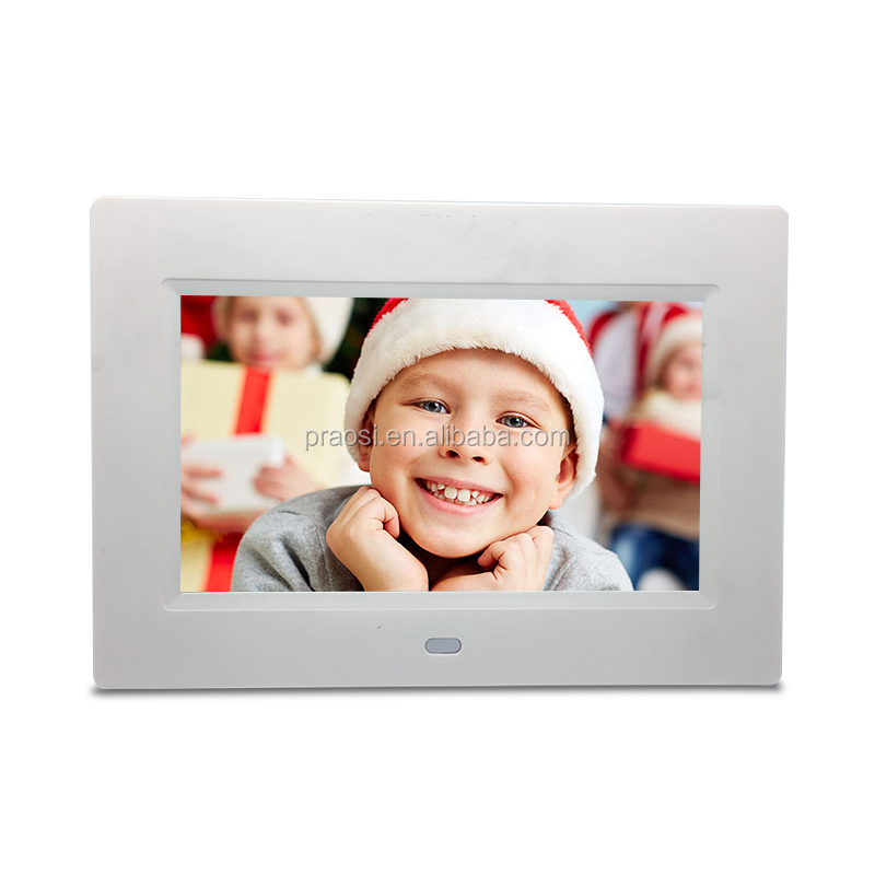 cheap new design play picture video loop playback bulk digital photo frame 7 inch lcd <strong>advertising</strong>
