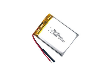 GEB 3.7V 503040 500mAh rectangle lithium polymer battery