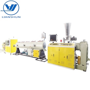 UPVC PVC pipe making machine with high quality and output