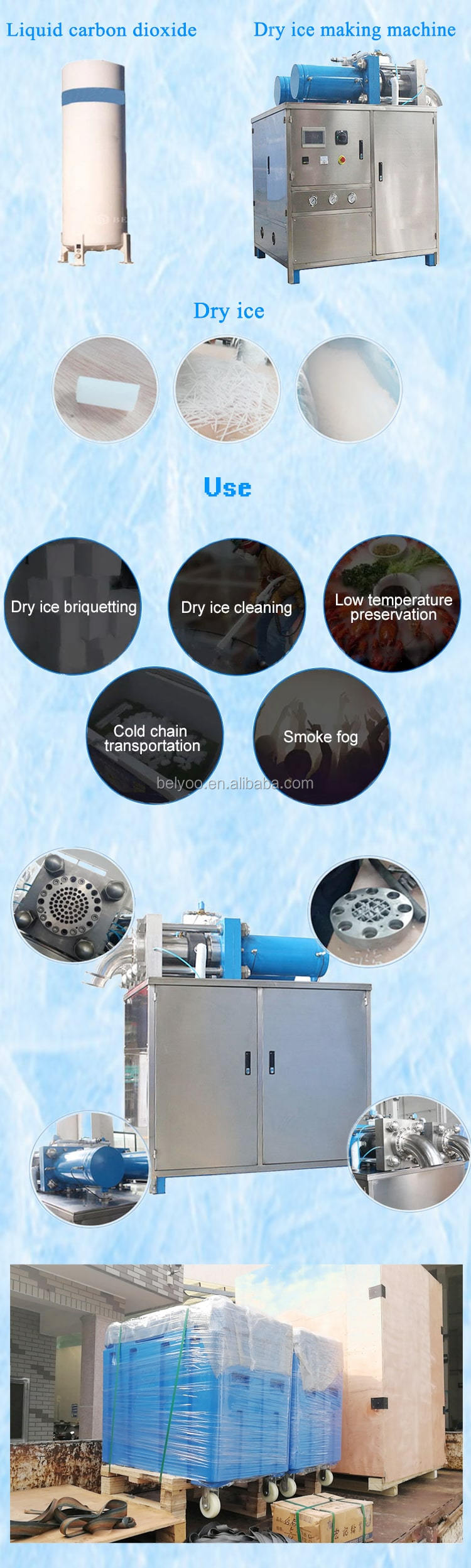 High Efficiency Ice Cube Making Machines Price From China Manufacturer