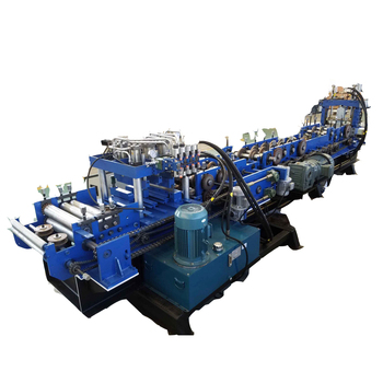 Dahe Good quality metal roofing galvanized steel vineyard fence Post roll forming machine CZ channel roll formed machine