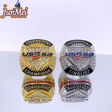 Stock item usssa tournament gold champions &amp; silver fianlist baseball championship <strong>rings</strong> size 11