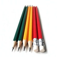 Factory 18 Years Free Sample 7.5inch Wooden Standard HB Pencil