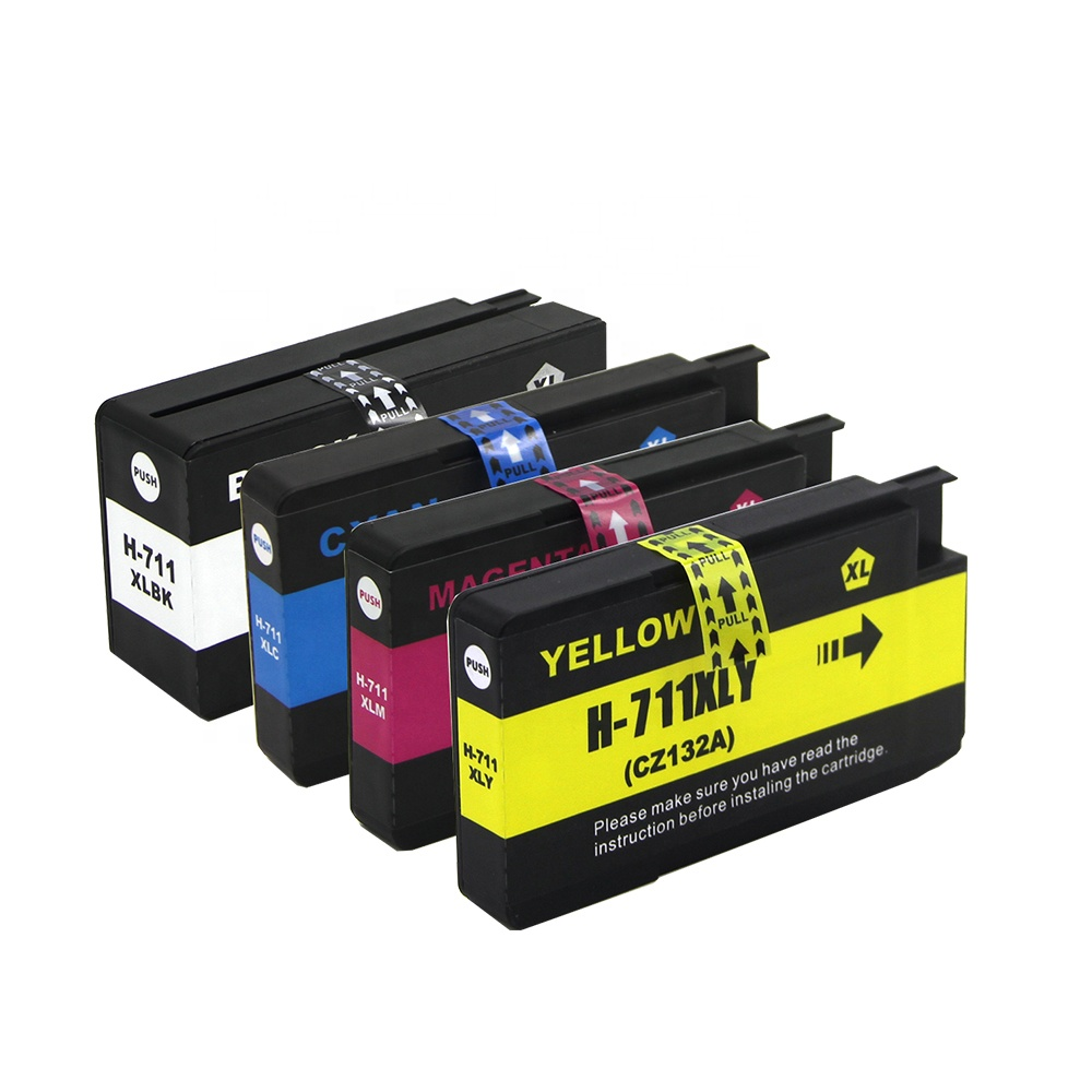 Tatrix 711 711XL Premium Color Compatible Printer Ink Cartridge for HP T120 24 T120 610