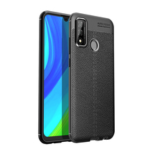 For Huawei P Smart 2020 Y5p <strong>Phone</strong> Case Litchi PU Leather Pattern Soft TPU Bumper Hard PC Protective Case