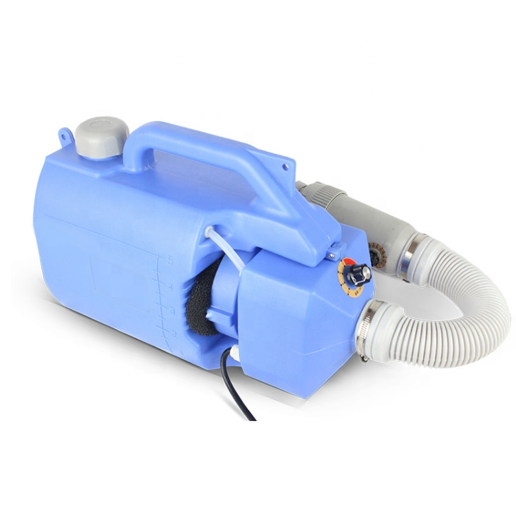 5L blue 220V electric ulv cold fogger machine portable disinfectant sprayer