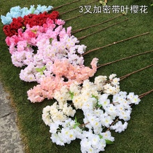 Factory Price Artificial <strong>Sakura</strong> Cherry Blossom Branches For Wedding Decoration