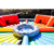 hungry hungry hippo chow down inflatable game, inflatable hungry hippos game