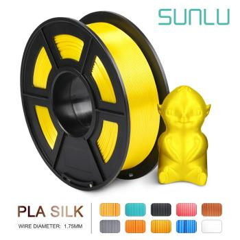 Factory Direct sale 3D Printer Silk  Filament PLA 1.75MM 1KG